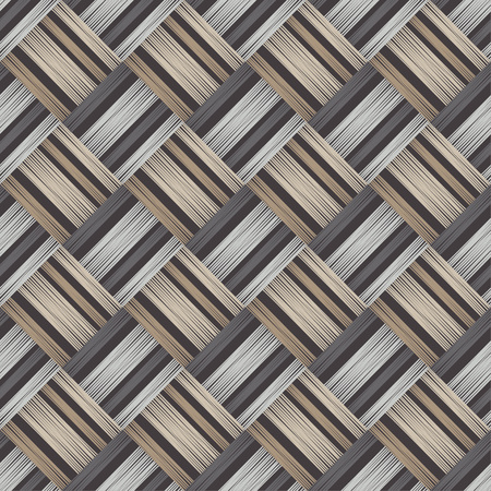 Seamless geometric pattern. The texture of the strips. Scribble texture. Textile rapport. 向量圖像
