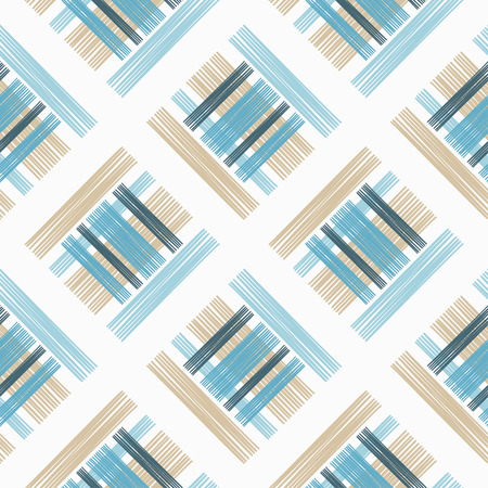 Seamless geometric pattern. The texture of the strips. Scribble texture. Textile rapport. Illustration