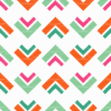 Seamless geometric pattern. The texture of the triangles. Scribble texture. Textile rapport.