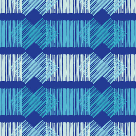 Seamless geometric pattern. The texture of the strips. Scribble texture. Textile rapport illustration.