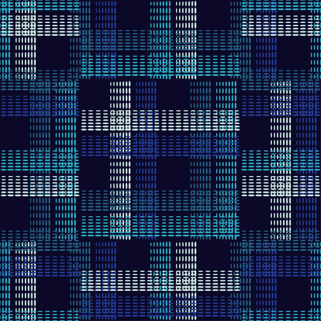 Seamless geometric pattern. The texture of the strips at points. Scribble texture. Textile rapport. Illustration