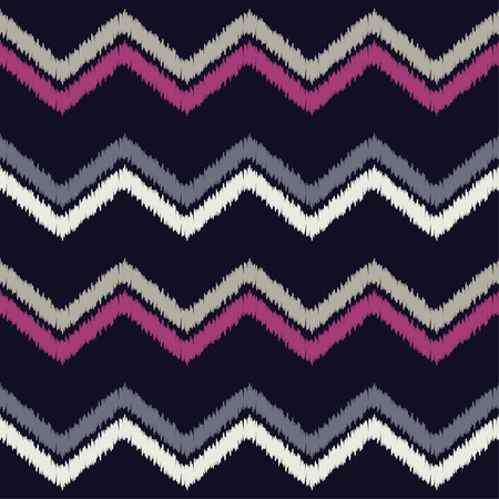 A Seamless geometric pattern The texture of the zigzag Textile rapport.