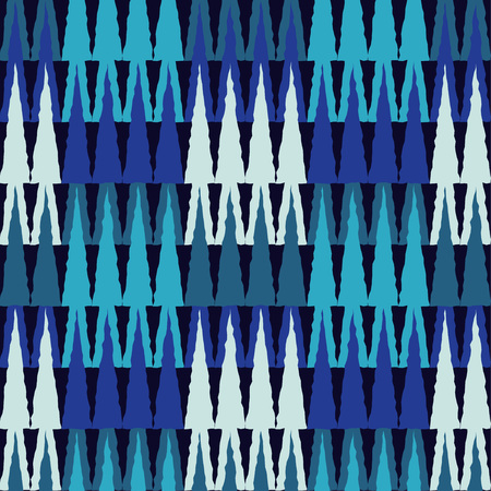 Seamless geometric pattern. The texture of the squares and crowns. Textile rapport. Illustration