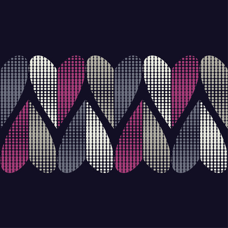 Seamless background with decorative hearts. Valentine's day Drops texture. Textile rapport.