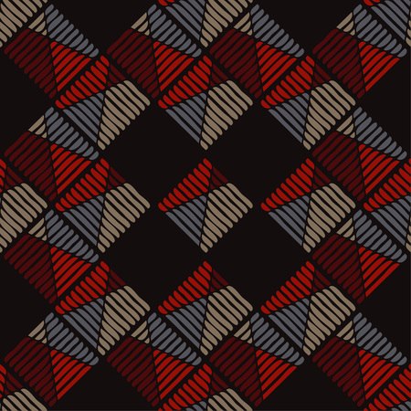 Geometric pattern and texture of stripes and squiggles.