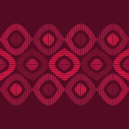 Seamless geometric pattern. Texture of cells and strips. Scribble texture. Textile rapport. Illustration