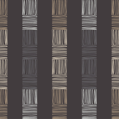 Geometric pattern. Brown floor with wooden texture. Asian Mat. Scribble texture. Textile rapport.