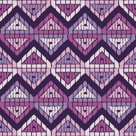 Ethnic boho seamless pattern. Traditional ornament. Geometric background. Tribal pattern.