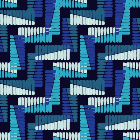 Seamless geometric pattern. Scribble texture. Textile rapport.