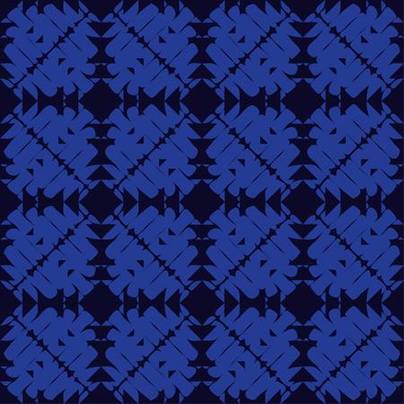 Ethnic boho seamless pattern. Brushwork. Traditional ornament. Geometric background. Tribal pattern. Folk motif. Textile rapport.