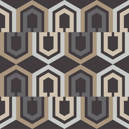 Seamless abstract geometric pattern. Textile rapport