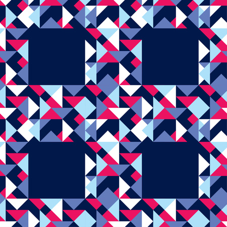 Seamless abstract geometric pattern. The texture of the polygons. Scribble texture. Textile rapport.