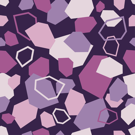 Colorful abstract geometric seamless pattern.