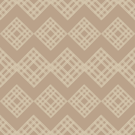 Seamless abstract geometric pattern. The texture of rhombus. Knitted texture. Brushwork. Hand hatching. Scribble texture. Textile rapport.