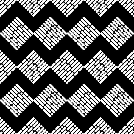 Seamless abstract geometric pattern. The texture of the strips. The texture of rhombus. Textile rapport.