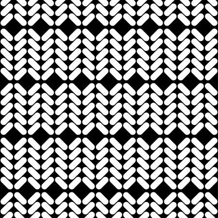 Seamless abstract geometric pattern. Knitted texture of braids. The texture of the strips. Textile rapport.