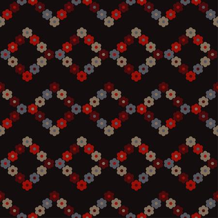 Seamless floral pattern. Background texture. Decorative floral ornament. Textile rapport.