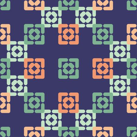 Seamless abstract geometric pattern. The texture of the squares. Textile rapport. 向量圖像