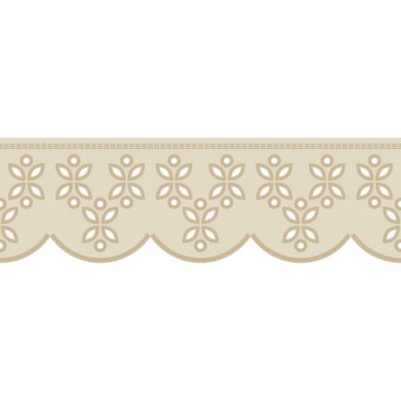 Fond transparent avec broderie au point satin. Ornement traditionnel. Motif rustique. Rapport textile.