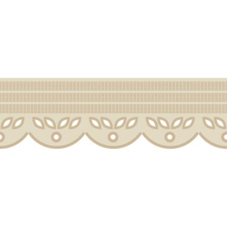 Seamless background with satin stitch embroidery. Traditional ornament. Rustic pattern. Textile rapport.