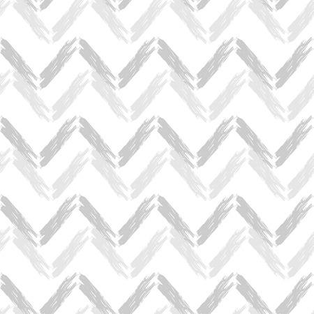 Naadloos abstract geometrisch patroon. Zigzag textuur. Mozaïek textuur. Penseelvoering. Hand uitbroeden. Krabbel textuur. Textielrapport.