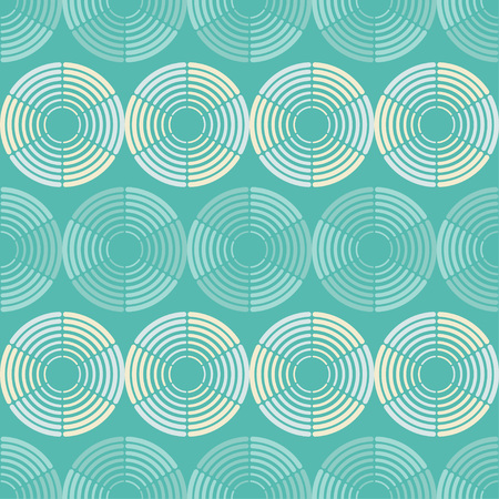 Polka dot seamless pattern. Geometric background. Dots, circles and buttons. Theextile rapport.