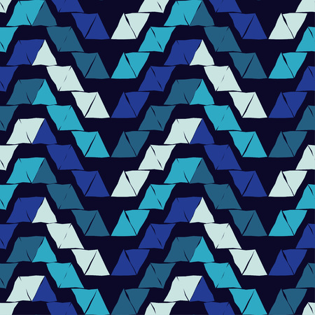 Seamless abstract geometric pattern. Triangles. Vector pattern. Mosaic texture. Can be used for wallpaper, textile, wrapping, web page background.