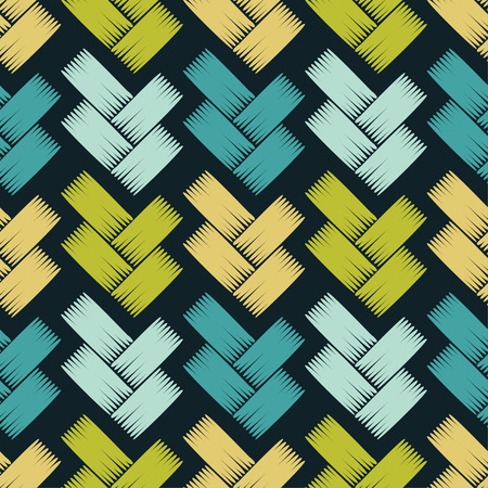 Seamless abstract geometric pattern. Texture patchwork. Netting. Hand hatching. Scribble texture. Vector pattern. Mosaic texture. Can be used for wallpaper, textile, wrapping, web page background. Vektorové ilustrace