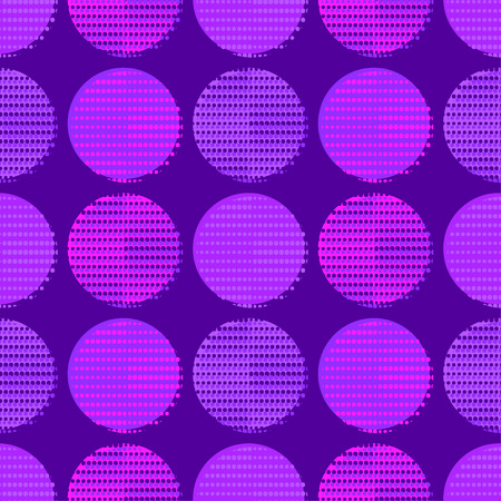 Polka dot seamless pattern. Points. Geometric background. Dots, circles and buttons. Can be used for wallpaper, textile, wrapping, web page background.