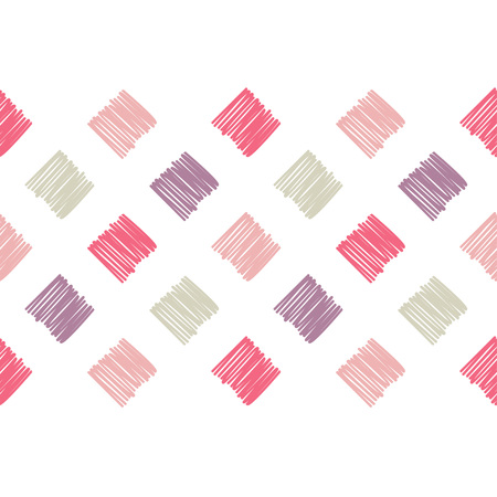 Trendy seamless pattern designs. Patchwork texture. Weaving. Vector geometric background. Can be used for wallpaper, textile, wrapping, web page background.