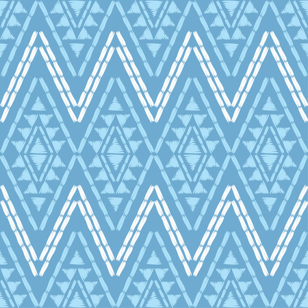 Ethnic boho seamless pattern. Patchwork texture. Weaving. Traditional ornament. Tribal pattern. Folk motif. Can be used for wallpaper, textile, wrapping, web page background.