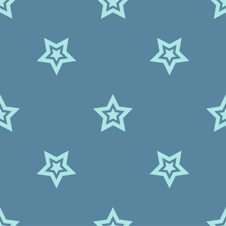 Seamless pattern with decorative stars. Stars in the sky. Can be used for wallpaper, textile, wrapping, web page background.
