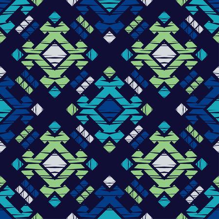 Modèle sans couture ethnique boho. Broderie sur tissu. Texture patchwork. Tissage. Ornement traditionnel. Motif tribal. Motif folklorique. Peut être utilisé pour le papier peint, le textile, l'emballage, l'arrière-plan de la page Web.