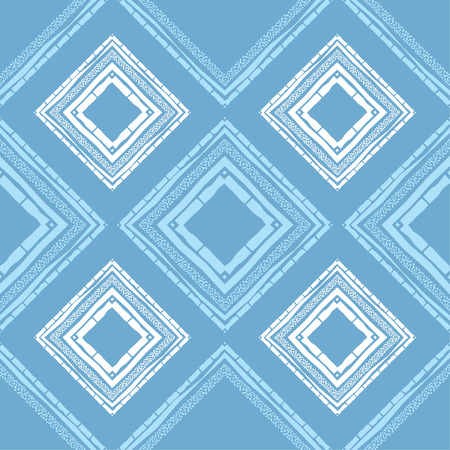 Ethnic boho seamless pattern. Embroidery on fabric. Patchwork texture. Weaving. Traditional ornament. Tribal pattern. Folk motif. Can be used for wallpaper, textile, invitation card, wrapping, web page background.
