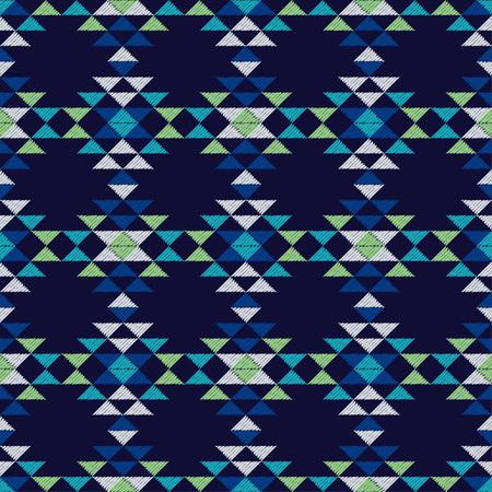 Modèle sans couture ethnique boho. Broderie sur tissu. Texture patchwork. Tissage. Ornement traditionnel. Motif tribal. Motif folklorique. Peut être utilisé pour le papier peint, le textile, la carte d'invitation, l'emballage, le web.