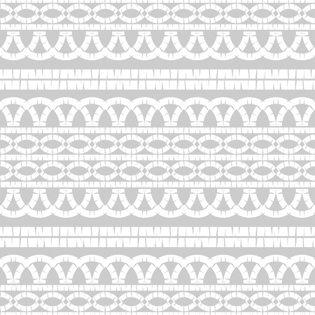 Ethnic boho seamless pattern. Embroidery on fabric. Patchwork texture. Weaving. Traditional ornament. Tribal pattern. Folk motif. Can be used for wallpaper, textile, invitation card, wrapping, web. Vectores