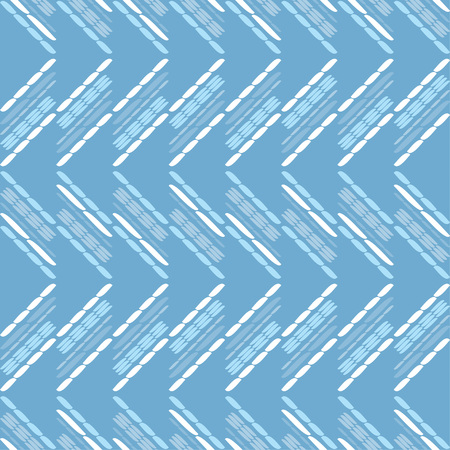 Ethnic boho seamless pattern. Zigzag. Embroidery on fabric. Patchwork texture. Weaving. Traditional ornament. Tribal pattern. Folk motif. Can be used for wallpaper, textile, wrapping, web. Ilustrace
