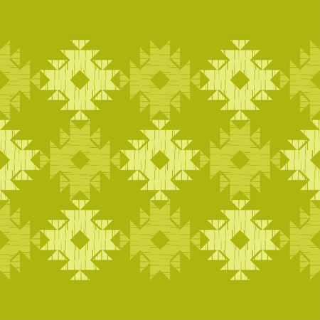 Ethnic boho seamless pattern. Lace. Embroidery on fabric. Patchwork texture. Weaving. Traditional ornament. Tribal pattern. Folk motif. Can be used for wallpaper, textile, wrapping, web.