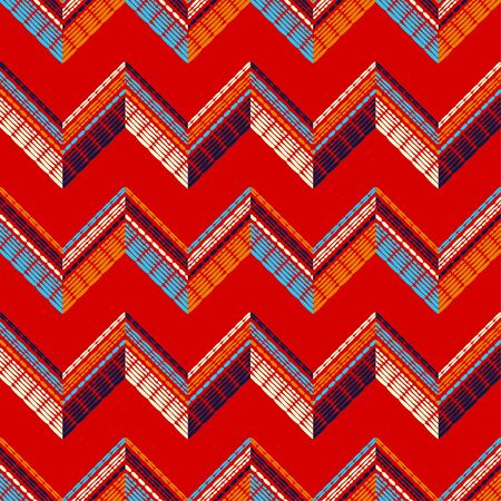 Ethnic boho seamless pattern. Lace. Embroidery on fabric. Patchwork texture. Weaving. Traditional ornament. Tribal pattern. Folk motif. Can be used for wallpaper, textile, wrapping, web. Stok Fotoğraf - 124906746