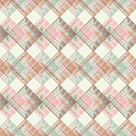 Ethnic boho seamless pattern. Lace. Embroidery on fabric. Patchwork texture. Weaving. Traditional ornament. Tribal pattern. Folk motif. Can be used for wallpaper, textile, wrapping, web. Çizim