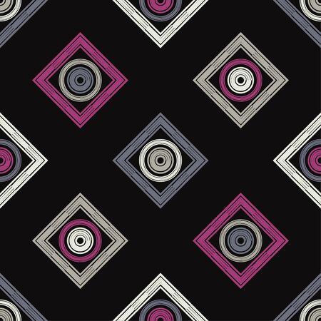 Trendy seamless pattern designs. Patterned texture. Vector geometric background. Can be used for wallpaper, textile, invitation card, wrapping, web page background.
