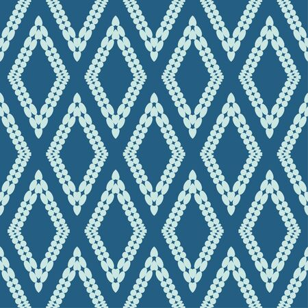 Paisley ornament. Polka dots. Ethnic boho seamless pattern. Ikat. Traditional ornament. Folk motif. Can be used for wallpaper, textile, invitation card, wrapping, web page background.