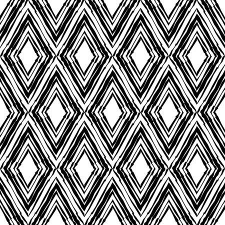Chiffres en noir et blanc avec des rayures incurvées. Ornement boho ethnique. Arrière-plan transparent. Motif tribal. Illustration vectorielle pour la conception web ou l'impression.