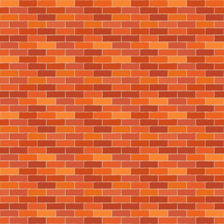 Mosaic of bricks. Seamless background. Means for the device of masonry walls and floors. Vector illustration for web design or print.