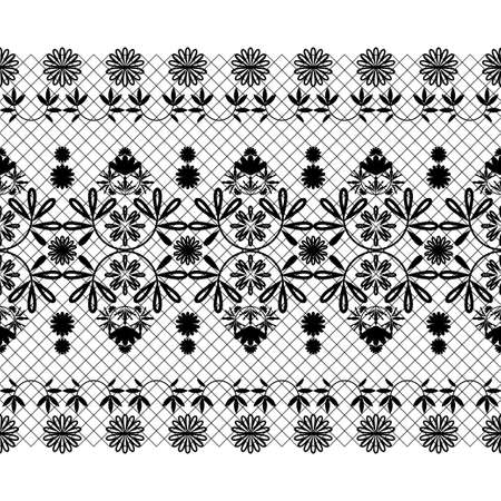 The lace pattern. Seamless background. Decoration for your design, lingerie and jewelry. Vector illustration for web design or print. Illustration