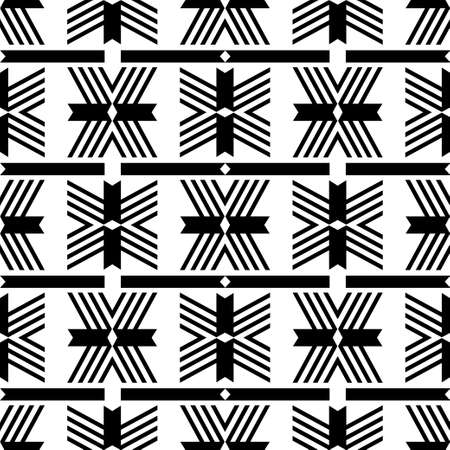 Navajo mosaic rug with traditional folk geometric pattern. Native American Indian blanket. Aztec elements. Seamless pattern. Vector illustration for web design or print.