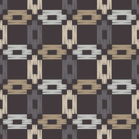 Embroidery. Navajo mosaic rug with traditional folk geometric pattern. Native American Indian blanket. Aztec elements. Seamless background. Vector illustration for web design or print.
