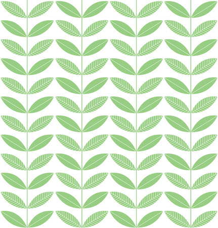 plant growth: Vector pattern. Herbal composition. The fresh green color. Plant growth.