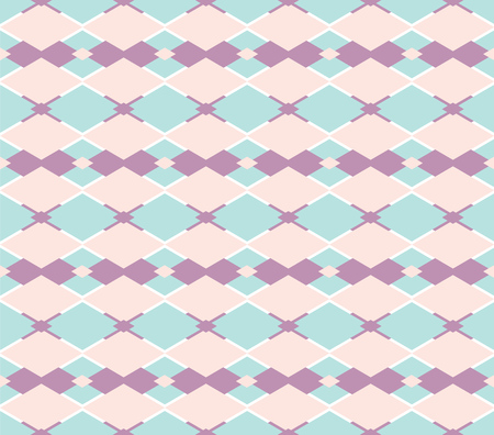 lyrical: Vector rhomboid light background. Colored diamonds. Pattern.