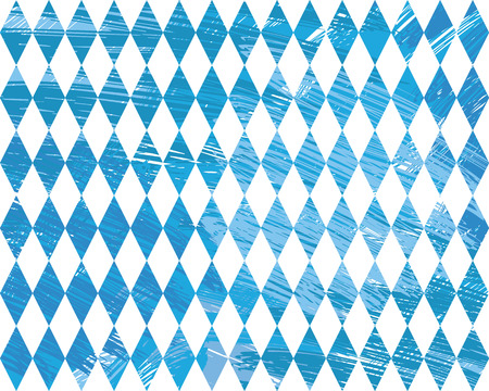 wiesn: Seamless Oktoberfest and Bavarian flag pattern or background with fabric texture